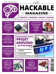Couverture Hackable Magazine 5