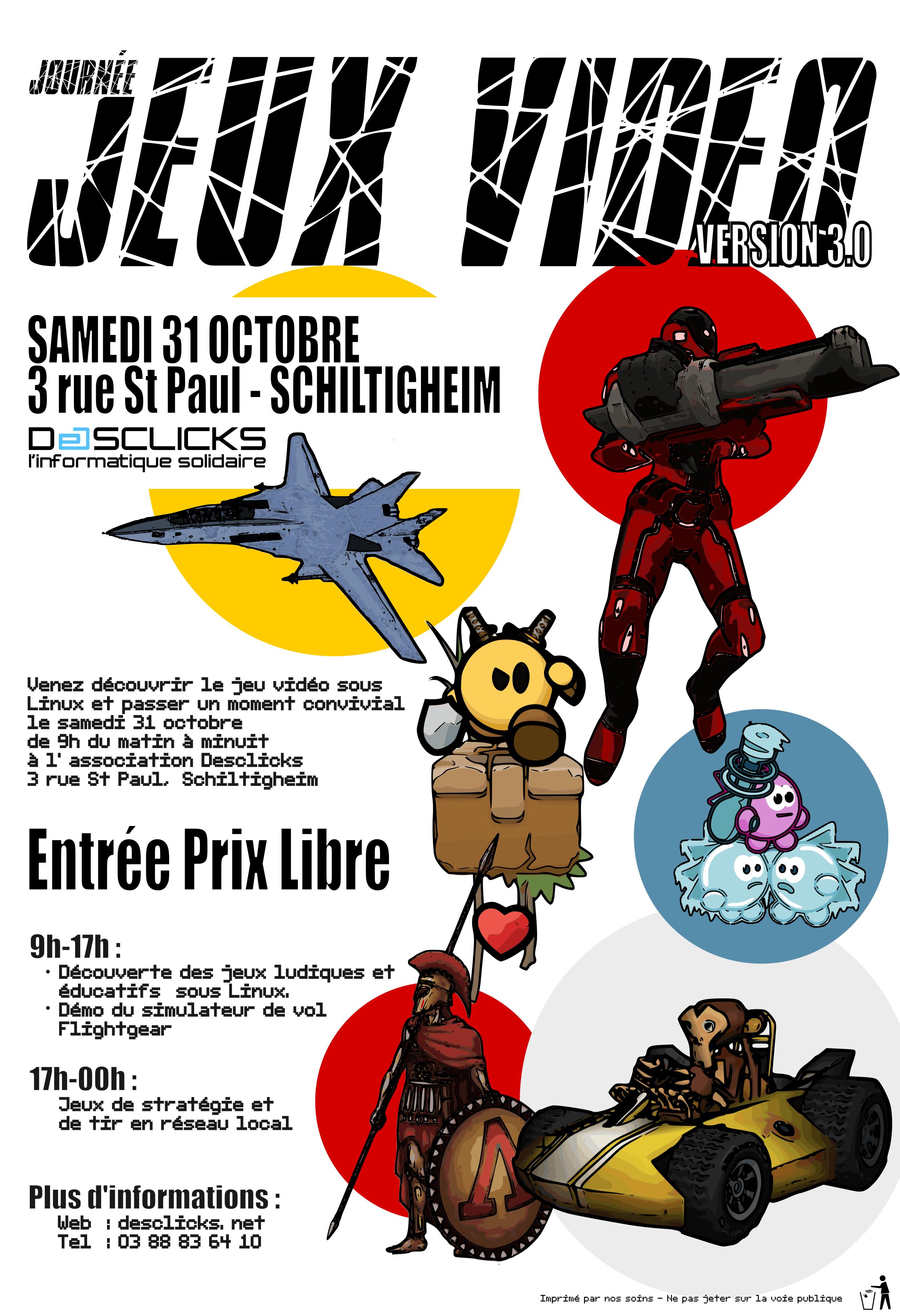 Affiche Journée Jeux Linux 3