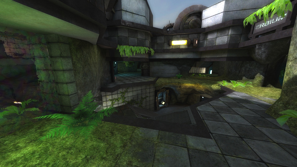 Xonotic 0.8.2 : carte Erbium