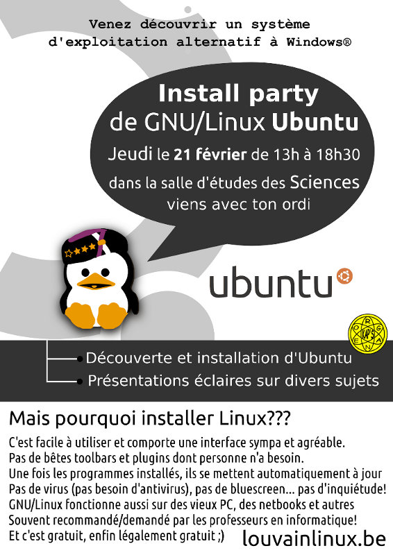 Affiche Install Party