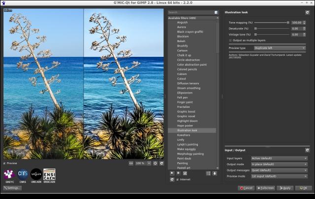 Greffon G'MIC pour GIMP