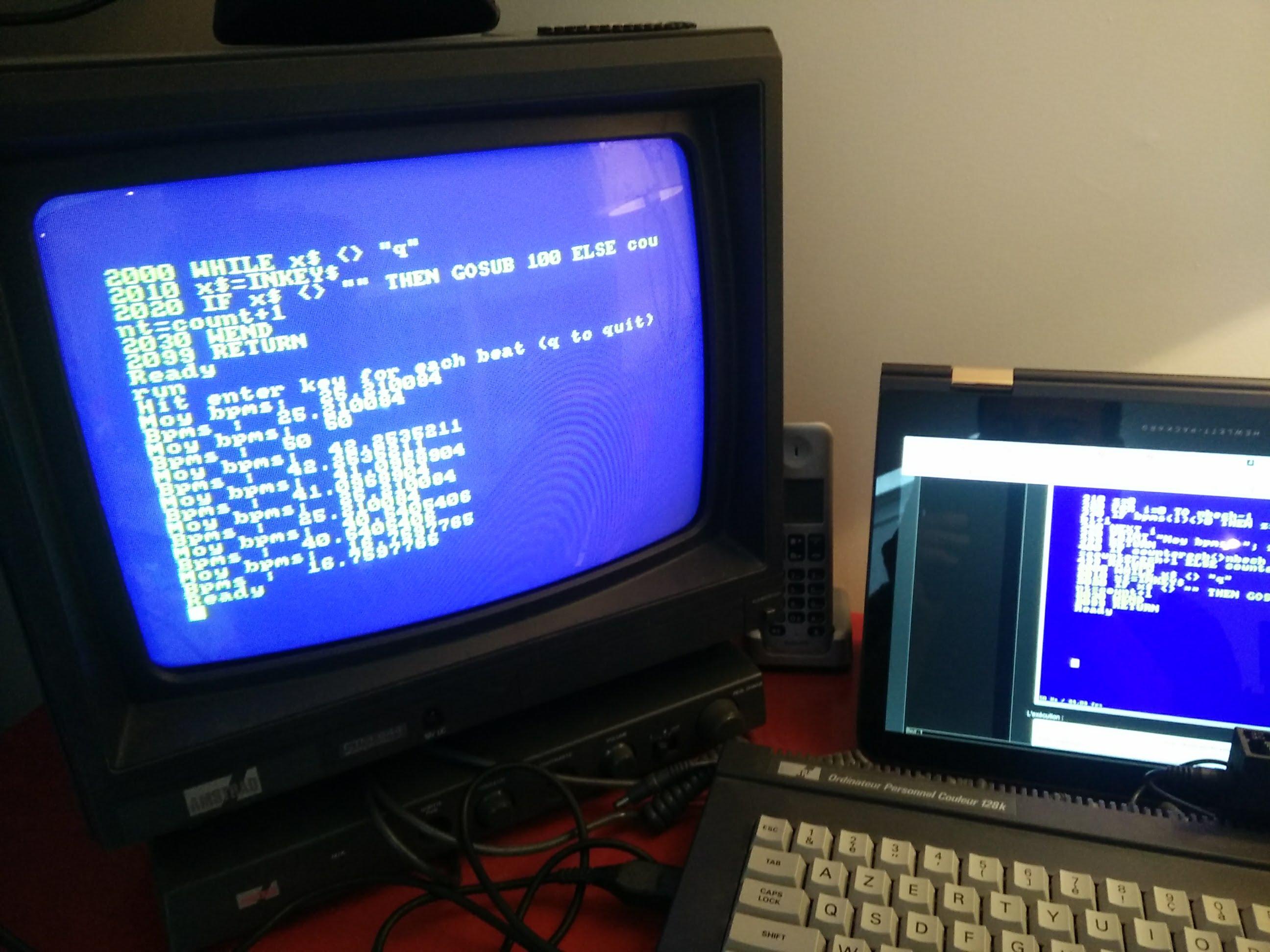 vintage portage taptempo en basic amstrad cpc linuxfr org basic amstrad cpc