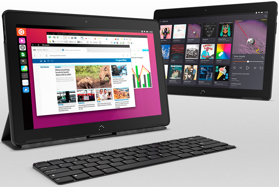 Tablette BQ Aquaris M10 Ubuntu Edition