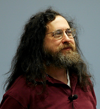 Portrait de Richard M. Stallman