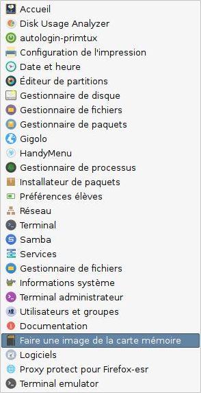 PrimTux3-Rpi-menu