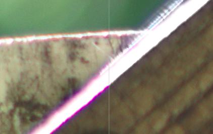 Exemple de suppression de frange