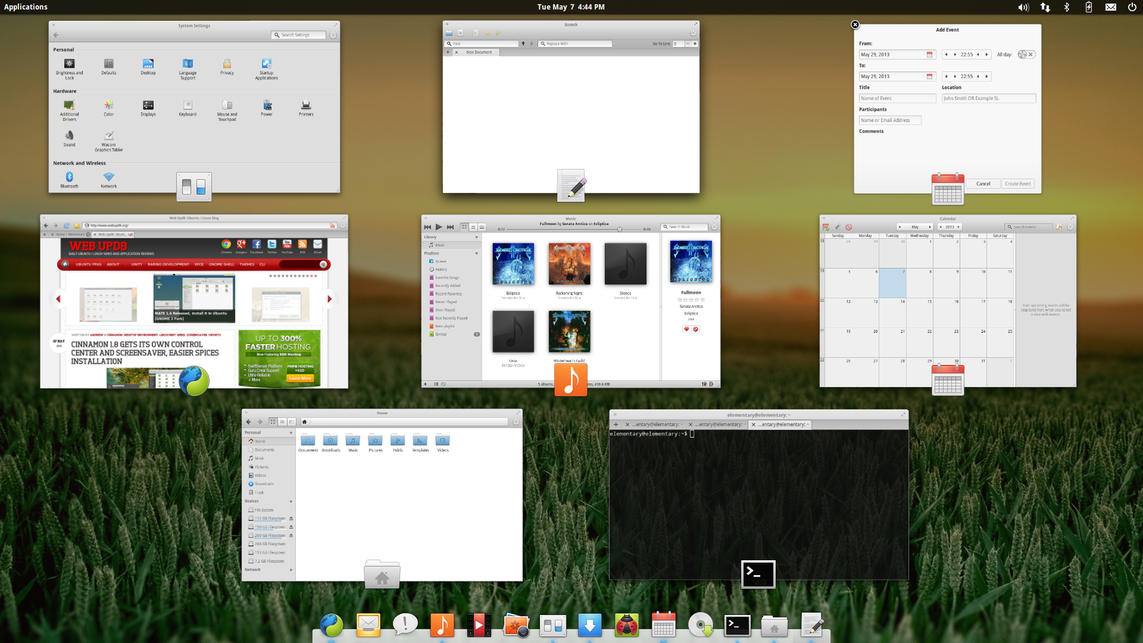 elementary OS switch application