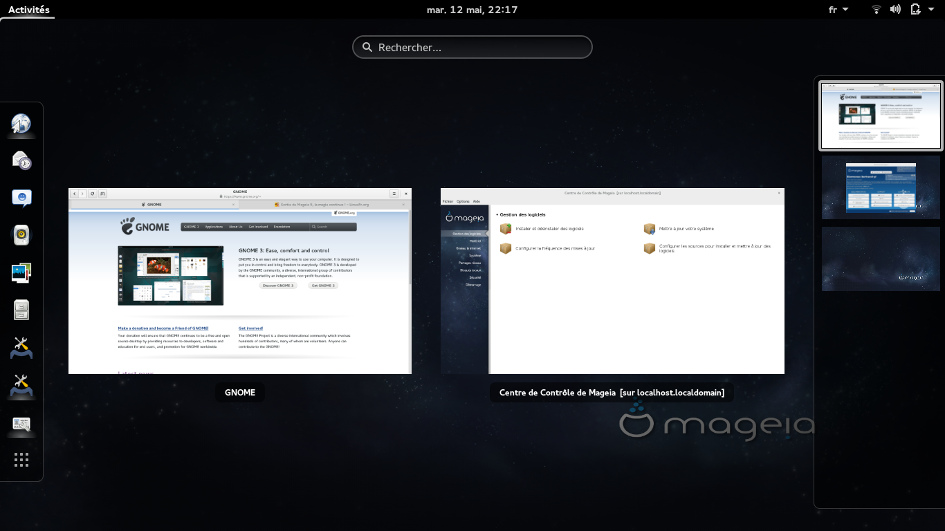 Mageia 5 GNOME 3.14