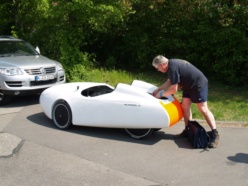 Velomobile Quest duo