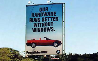 Our hardware runs better without windows.