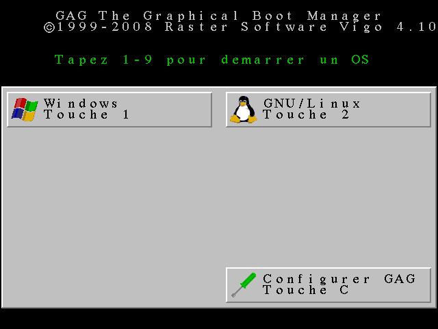 GAG: Windows ou GNU ?
