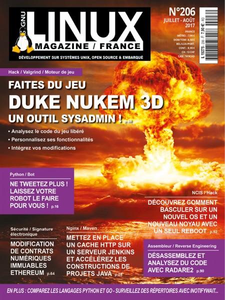 GNU/LinuxMagazine numéro206