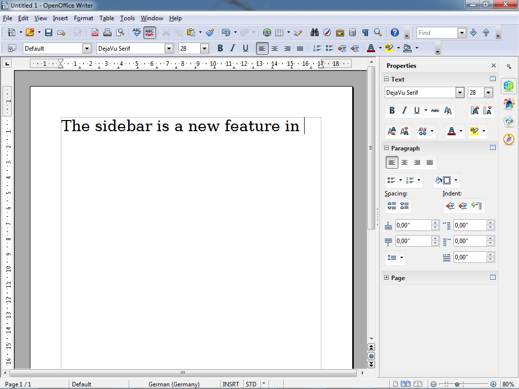 Libreoffice 4 1 et apache openoffice 4 0 sont de sortie - Convertir un fichier pdf en open office writer ...