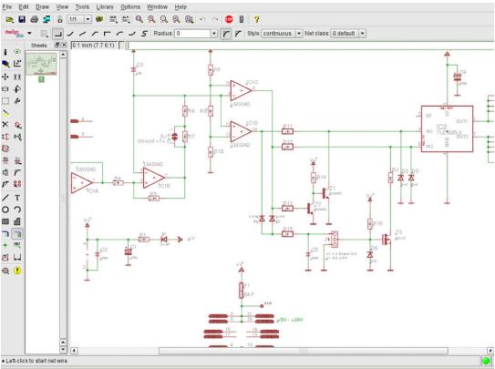 Les logiciel de conception de circuits lectroniques for Logiciel de conception