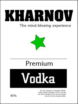 kharnov vodka, l'expérience hallucinante