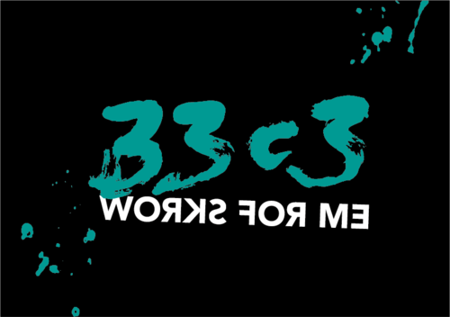 logo of the 33rd Chaos Communication Congress (33C3)