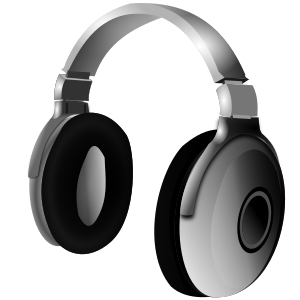 logo d'audource : un casque audio