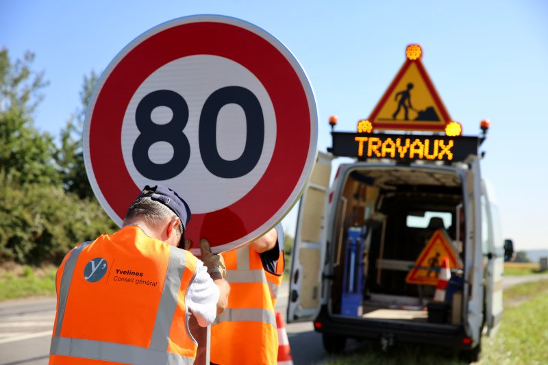 80 km/h - Nicolas Duprey/ CD 78 - Département des Yvelines - licence CC BY-ND 2.0 - source : https://www.flickr.com/photos/yvelines/42146553605/