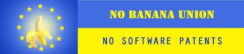 Bannière No Banana Union No Software Patents