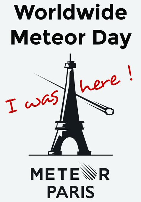 Worldwide Meteor 1.0 Day - Paris