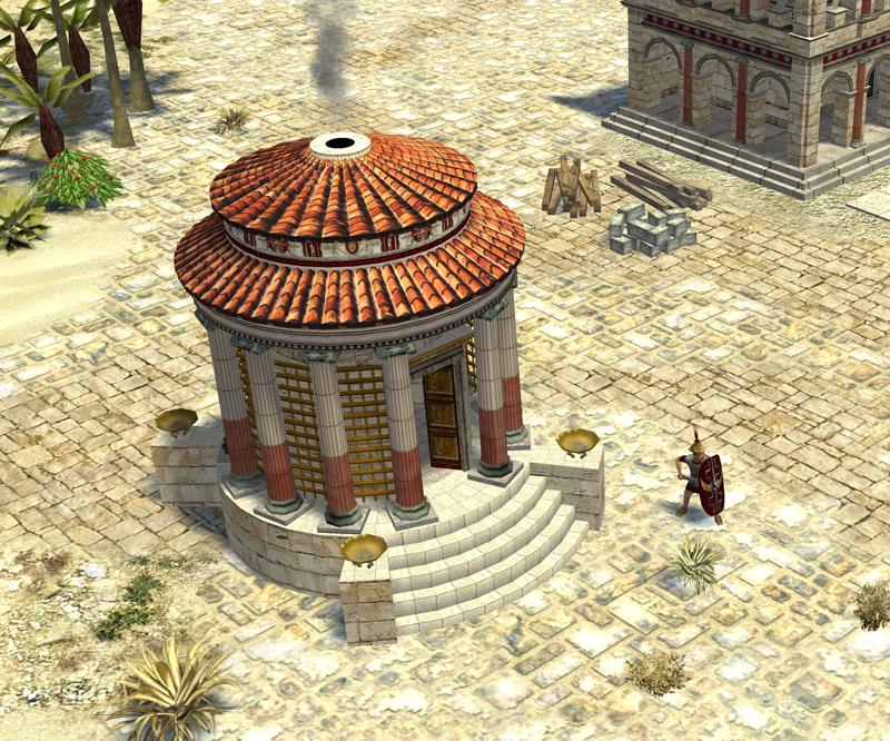 Image de présentation: Temple de Vesta