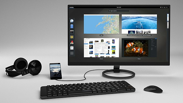 Librem5 phone convergence - screen keyboard mouse