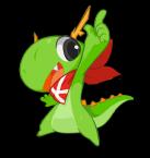 Konqi, la mascotte de KDE
