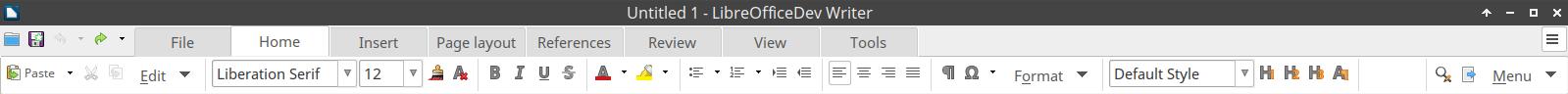 Sortie de LibreOffice 6 0 - LinuxFr org