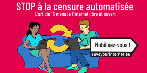 L'article 13 menace l'Internet libre et ouvert