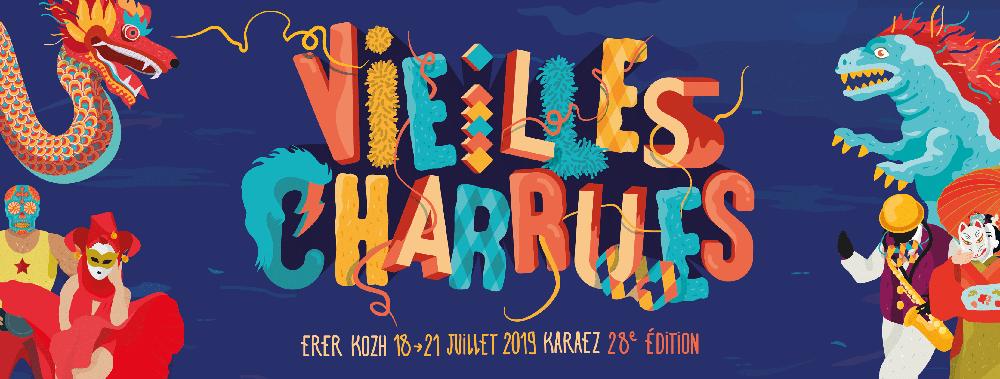 Logo des Vieilles Charrues2019