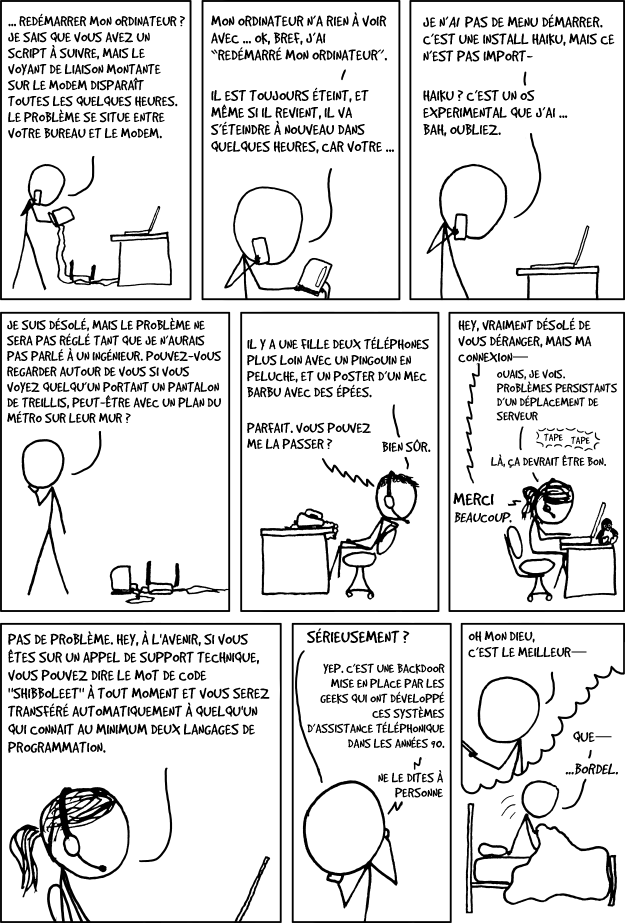 xkcd Tech Support